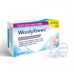 Invisible Nasal Strips(New Model) - WoodyKnows® Durable Anti Snore Solution Nasal Dilators