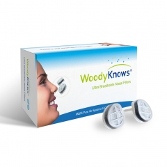 WoodyKnows Ultra Breathable Nasal Filters (New Model) for Allergy Relief