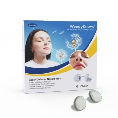 WoodyKnows Super Defense Nasal Filters (New Model) Reduce Particulate Air Pollution